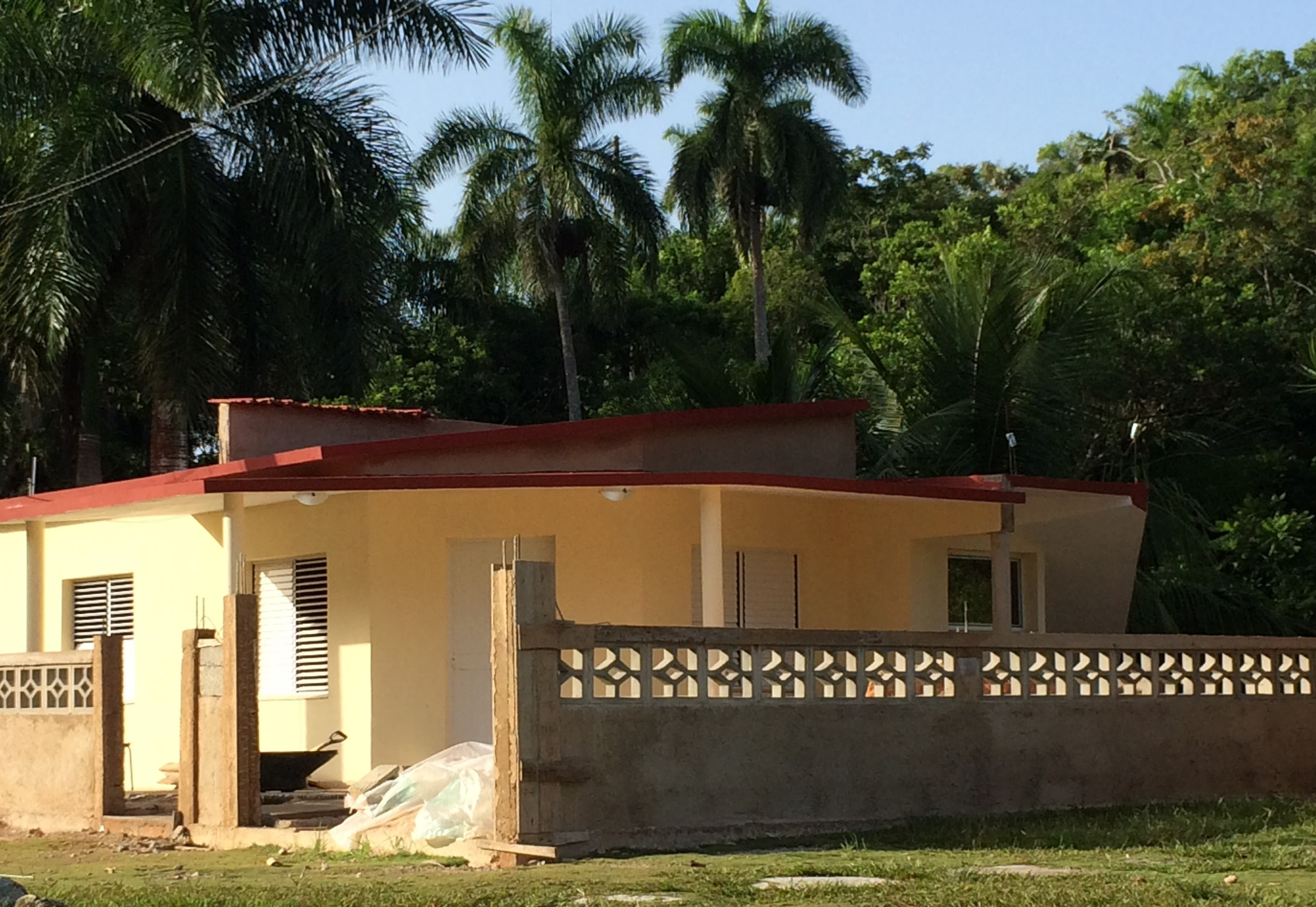 Notre maison à cuba commence à prendre forme!