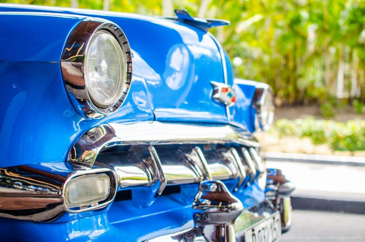 Vielle voiture américaine, photographiée lors de l'un de nos voyage d'immersion à Cuba.