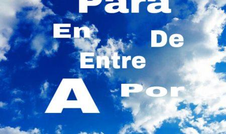 Preposiciones en español audio